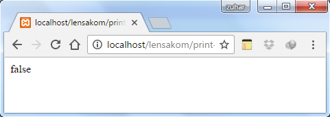 perbedaan Fungsi Print dan Echo pada PHP