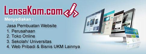 Lensakom menyediakan jasa pembuatan website di Aceh pada khususnya dan wilayah lain pada umumnya