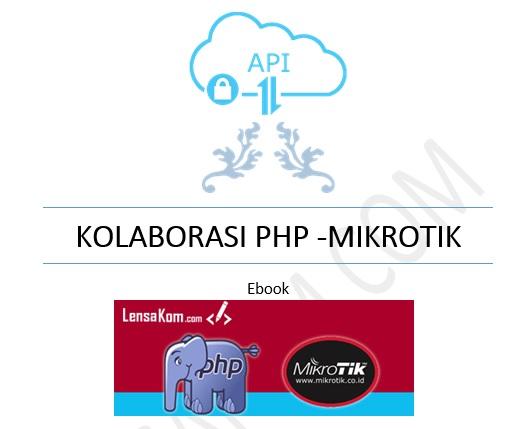 Ebook Kolaborasi PHP dengan MikroTik